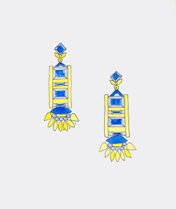 06_17_14_Blue_Yellow_Earrings
