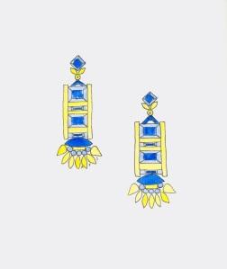 06_17_14_Blue_Yellow_Earrings